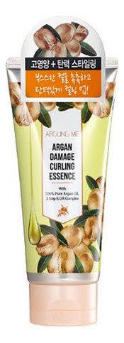 Эссенция для вьющихся волос Around Me Argan Damage Curling Essence Welcos