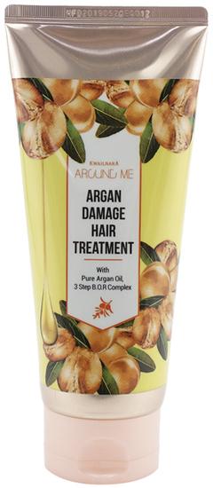 Маска для поврежденных волос на основе арганового масла Around Me Argan Damage Hair Mask Welcos
