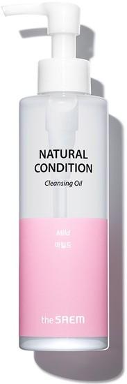 Гидрофильное масло для лица Natural Condition Cleansing Oil The Saem (фото)