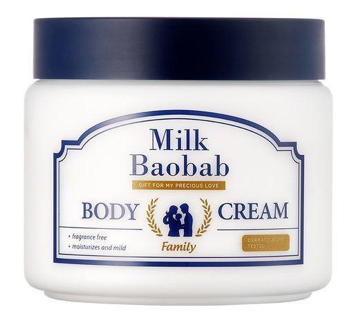 Глубоко увлажняющий крем для тела для всей семьи Family Body Cream Milk Baobab (фото)