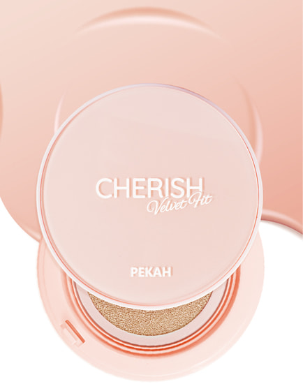 Кушон для лица Cherish Velvet Fit Cushion Pekah (фото, Кушон для лица Pekah Cherish Velvet Fit Cushion)