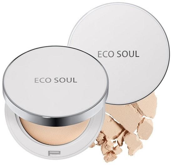 Пудра санскрин Eco Soul Uv Sun Pact The Saem (фото)