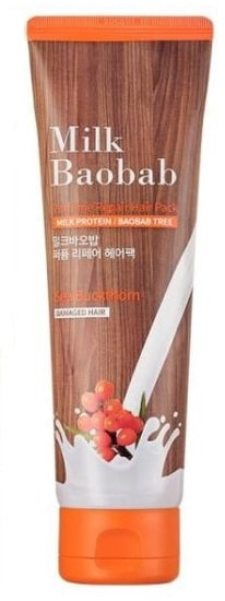 Восстанавливающая парфюмированная маска для волос Perfume Repair Hair Pack Milk Baobab