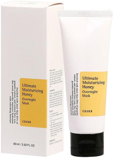 Ночная маска-спа с экстрактом прополиса Ultimate Moisturizing Honey Overnight Mask COSRX