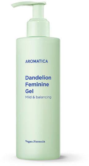 Гель для интимной гигиены с одуванчиком Dandelion Feminine Gel Aromatica