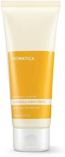 Увлажняющий крем для лица с календулой Calendula Juicy Cream Aromatica (фото, Увлажняющий крем для лица с календулой Aromatica Calendula Juicy Cream)
