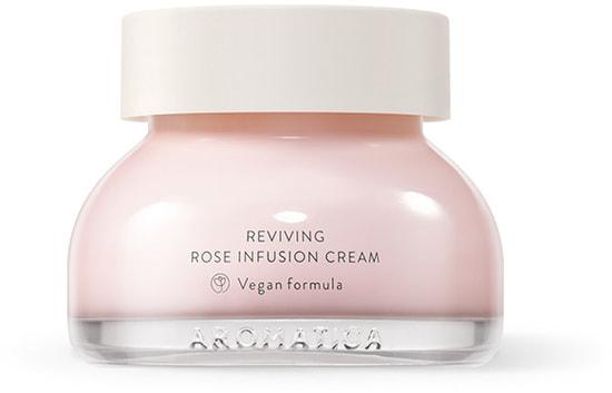 Омолаживающий крем для лица с экстрактом дамасской розы Reviving Rose Infusion Cream Aromatica (фото)
