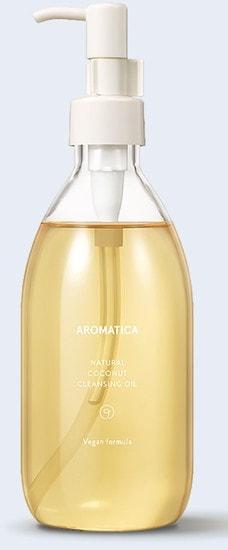 Органическое гидрофильное масло с кокосом Natural Coconut Cleansing Oil Aromatica (фото)