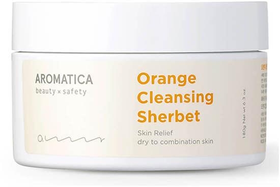 Апельсиновый очищающий щербет Orange Cleansing Sherbet Aromatica (фото)