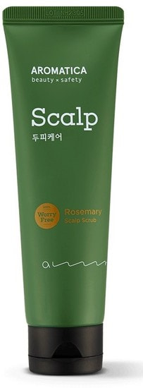 Скраб для кожи головы с розмарином Rosemary Scalp Scrub Aromatica (фото)