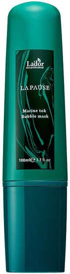 Очищающая кислородная маска с морским комплексом La Pause Marine Tok Bubble Mask Lador (фото, Очищающая кислородная маска с морским комплексом Lador)