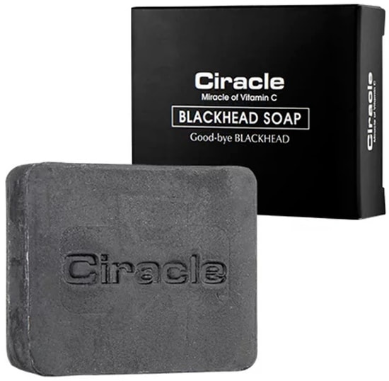 Мыло для проблемной кожи от угрей и черных точек Blackhead Soap Ciracle (фото, Мыло для умывания для проблемной кожи Ciracle Blackhead Soap)