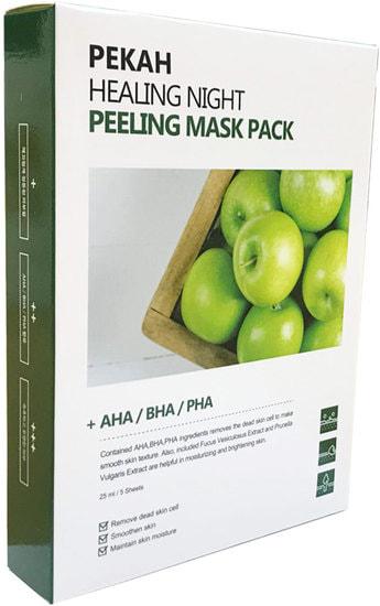 Вечерняя восстанавливающая отшелушивающая маска Healing Night Peeling Mask Pack Pekah (фото, Вечерняя восстанавливающая отшелушивающая маска Pekah)