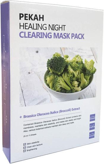 Вечерняя восстанавливающая очищающая маска Healing Night Clearing Mask Pack Pekah (фото)
