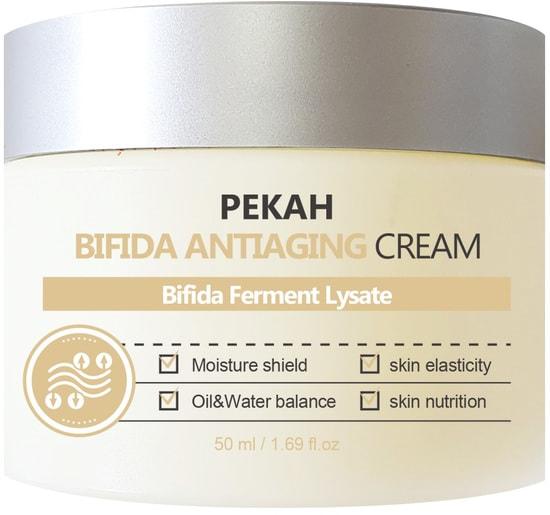 Антивозрастной крем для лица с комплексом бифидобактерий Bifida Antiaging Cream Pekah (фото)