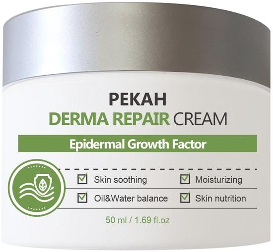 Восстанавливающий крем для лица с комплексом пептидов Derma Repair Cream Pekah (фото)