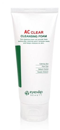 Антибактериальная пенка для проблемной кожи AC Clear Foam Eyenlip