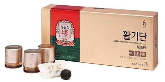 Жевательное драже из корня корейского красного женьшеня Korean Red Ginseng Vital Pill Korea Ginseng Corporation (фото, Жевательное драже из корня корейского красного женьшеня Korean Red Ginseng Vital Pill Korea Ginseng Corporation)