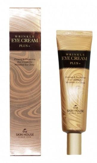 Крем от морщин для кожи вокруг глаз Wrinkle Eye Cream Plus The Skin House
