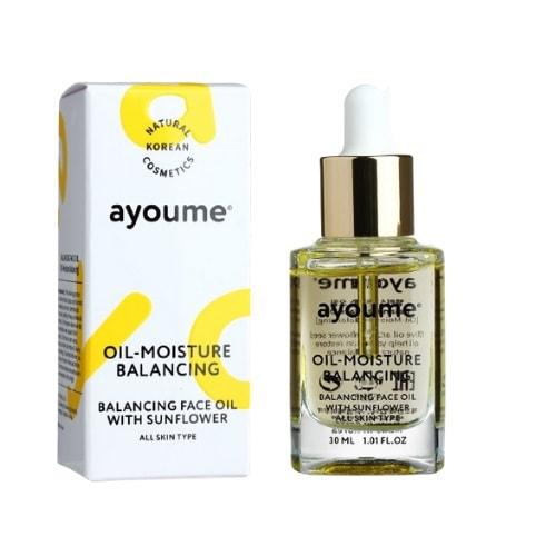 Масло для лица восстанавливающее Balancing Face Oil With Sunflower Ayoume (фото, Масло для лица восстанавливающее Ayoume Balancing Face Oil With Sunflower)