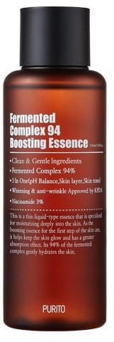 Ферментированная эссенция с ниацинамидом Fermented Complex 94 Boosting Essence Purito (фото, эссенция с ниацинамидом Purito Fermented Complex 94 Boosting Essence)