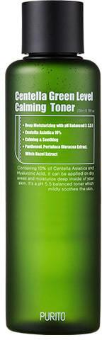 Бесспиртовый успокаивающий тонер с центеллой азиатской Centella Green Level Calming Toner Purito (фото, Бесспиртовый тонер Purito)