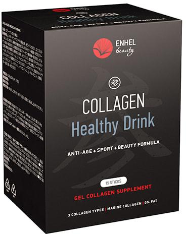Коллаген в желе со вкусом грейпфрута Collagen Healthy Drink ENHEL (фото, Коллаген в желе Collagen Healthy Drink ENHEL)