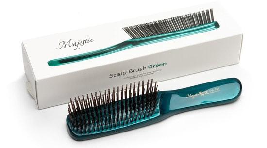 Расческа Majestic Green для густых жестких волос (фото, Majestic Green)