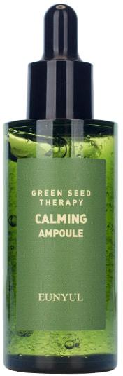 Ампульная успокаивающая сыворотка для лица с экстрактами зеленых плодов Green Seed Therapy Calming Ampoule Eunyul (фото)
