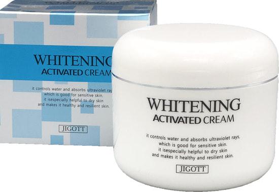 Осветляющий крем для лица Whitening Activated Cream Jigott (фото, Осветляющий крем для лица Jigott)