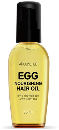 Питательное масло для волос Around Me Egg Nourishing Hair Oil Welcos
