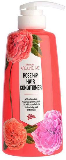 Кондиционер для волос с маслом шиповника Around Me Rose Hip Hair Conditioner Welcos