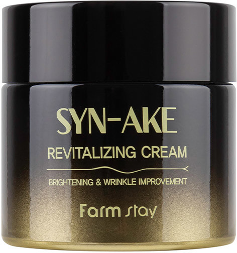 Восстанавливающий крем для лица с пептидом змеиного яда Syn-Ake Revitalizing Cream FarmStay (фото, Восстанавливающий крем для лица с пептидом змеиного яда)
