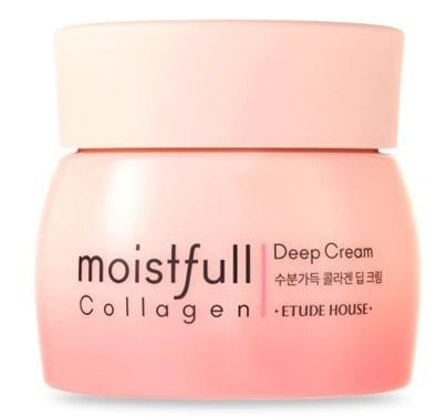 Крем для лица увлажняющий с коллагеном Moistfull Collagen Deep Cream Etude (фото, Крем для лица увлажняющий с коллагеном Etude)