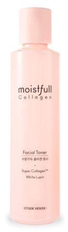 Тонер для лица с коллагеном Moistfull Collagen Facial Toner Etude