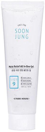 Универсальный гель для сухой кожи лица и тела Soon Jung Relief All In One Gel Etude