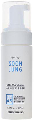 Пенка мусс для чувствительной кожи Soon Jung foam cleanser Etude (фото, Пенка мусс Etude Soon Jung foam cleanser)