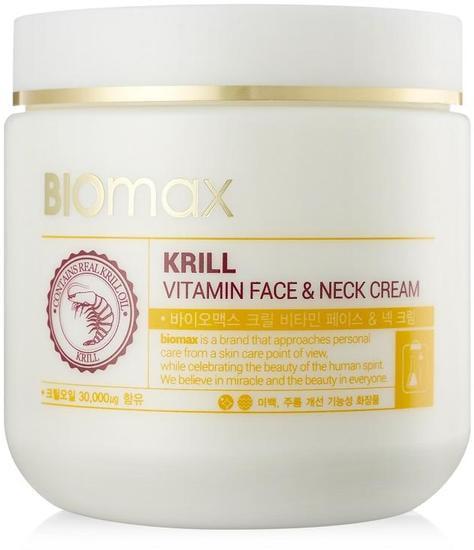 Витаминный крем для лица и шеи с крилевым маслом BIOmax