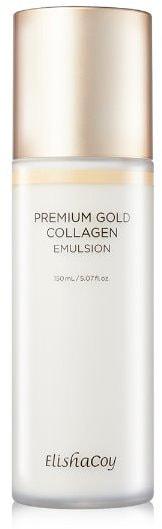 Увлажняющая эмульсия с коллагеном Premium Gold Collagen Emulsion Elishacoy