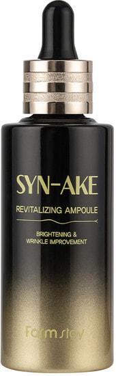 Восстанавливающая ампульная сыворотка для лица со змеиным ядом Syn-Ake Revitalizing Ampoule FarmStay (фото, FarmStay Syn-Ake Revitalizing Ampoule)