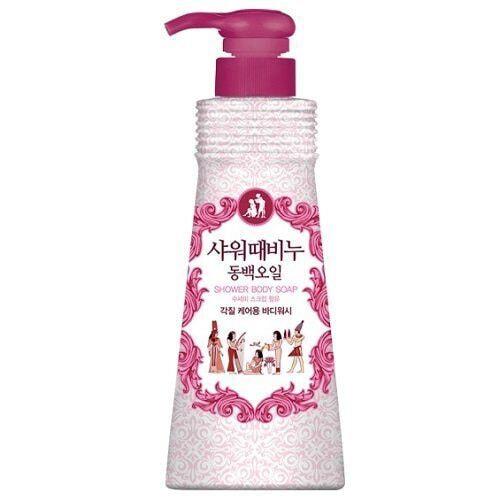 Косметическое мыло скраб для тела с маслом семян камелии Mukunghwa Shower Scrub Soap Camellia Seed Oil