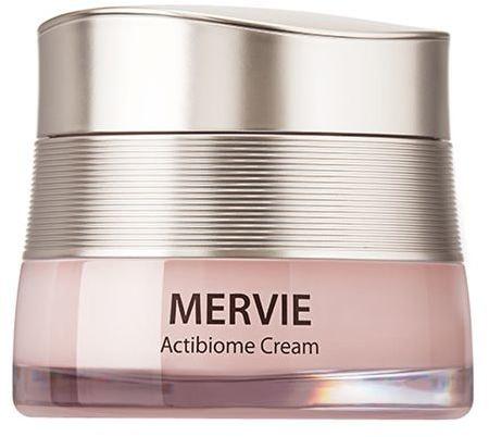 Крем для лица с пробиотиками и бифидобактериями Mervie Actibiome Cream The Saem