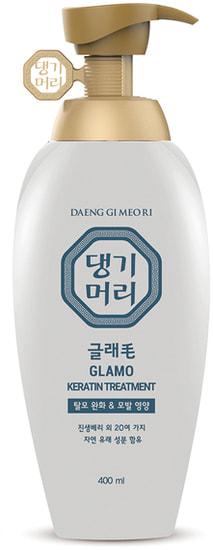 Лечебный кондиционер с кератином Glamo Keratin Treatment Daeng Gi Meo Ri