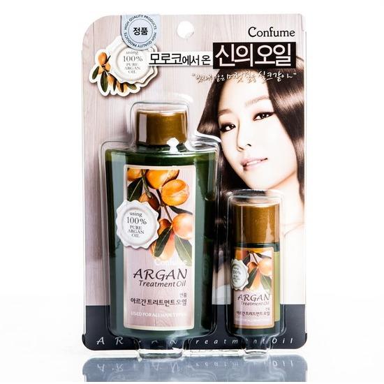 Аргановое масло в наборе Confume Argan Welcos (фото)