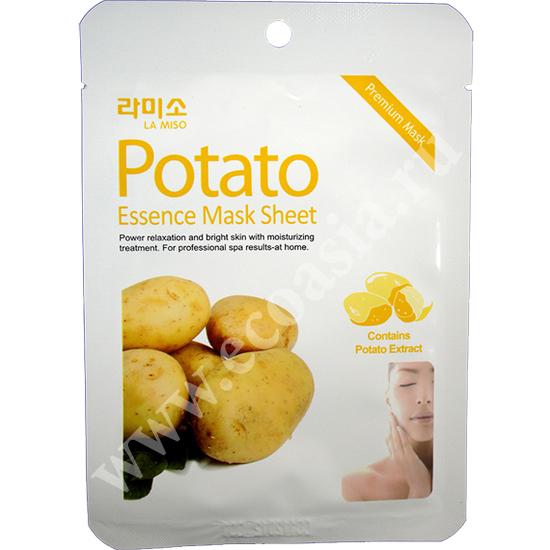 La Miso (Корея) Тканевая маска для лица с экстрактом картофеля