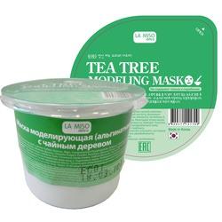 Моделирующая маска с чайным деревом альгинатная La Miso