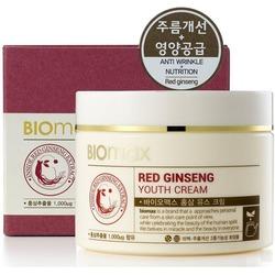 Омолаживающий крем для лица с красным женьшенем BIOmax