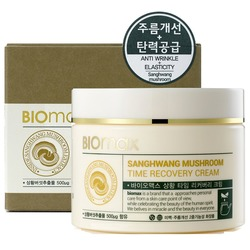 Восстанавливающий антивозрастной крем с экстрактом гриба сангван BIOmax (Корея)
