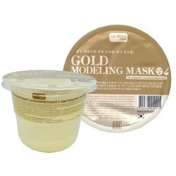 Моделирующая маска с частицами золота альгинатная La Miso