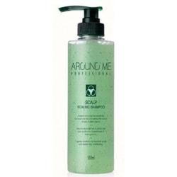 Отшелушивающий шампунь скраб для волос и кожи головы Around Me Scalp Scaling Shampoo Welcos